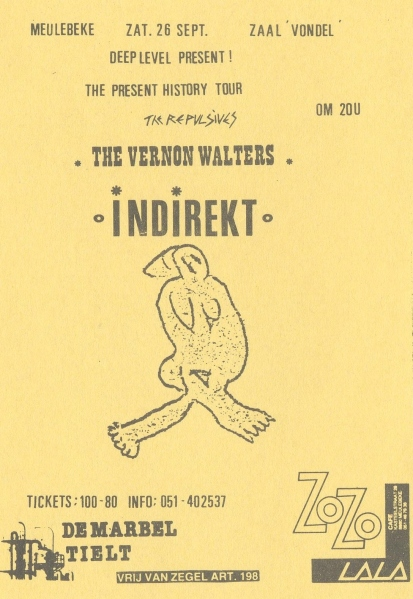 87-09-26 Indirekt- Vernon Walters - Repulsives